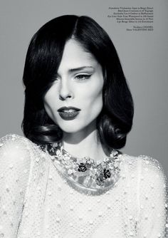 Coco Rocha for Glass Magazine Spring 2013 by Jason Hetherington