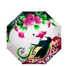Hummingbird Beautiful Anti-Uv Sun/Rain Umbrella For Girls