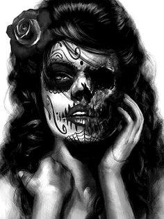 Zombie beauty.
