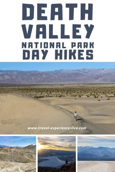 Top day hikes in Death Valley National Park, California. Click the image to see the greatest Death Valley trails!