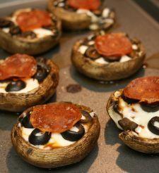 Mushroom Pizza Bites.