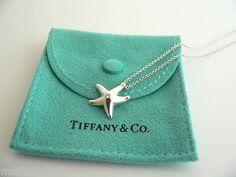 Tiffany & Co Silver Starfish Necklace