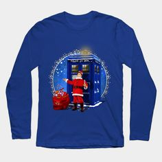 10th Doctor as Santa Claus flag  Long Sleeve T-Shirt #teepublic #tee #tshirt #longsleeve #clothing #gallifrean #gallifrey #british #who #fandom #nerds #timelord #cover #geeky #nerdy #tardis #cool #funny #geek #nerd #christmas #newyear #fireworks #neonlights #thedoctor #doctorwho #timevortex #badwolf #drwho #timetravel #bluebox #publiccallbox #10thdoctor #tenthdoctor #davidtennant #unitedkingdom #unionjack #doctorwho