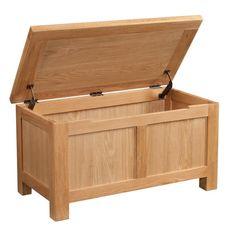 Dorset Oak Blanket Box