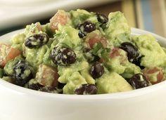 Easy Black Bean Guacamole - вегетарианская, веганская и безглютеновая