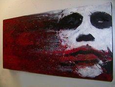 cool joker painting