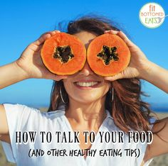 Go ahead and talk to your food ... with love! Here's how. Plus an awesome llama gif you'll want to watch a gazillion times. | Fit Bottomed Eats