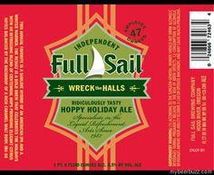 Full Sail – Wreck The Halls Hoppy Holiday Ale