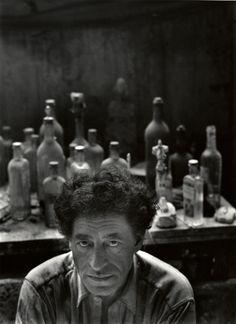 Newman, Arnold - Alberto Giacometti (1954)
