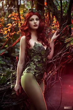 "kamikame-cosplay: ""Magda as nice Poison Ivy Photo by Studio Zahora """