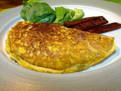 """""""You won't believe it's vegan"""" Omelette! 