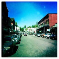 Downtown Nevada City, photo by amateurfilms.wordpress.com