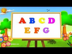 ▶ Alphabet Songs | ABC Songs for Children - 3D Animation Learning ABC Nursery Rhymes 3 - YouTube