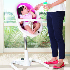 mima moon (3 in 1: infant lounger, high chair, junior chair-up to 99 pounds).