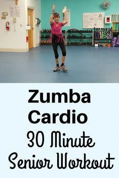 Zumba Cardio Workout For Seniors – Fitness With Cindy Rev up your metabolism, burn calories and have fun in this 30 minute Zumba cardio workout perfect for beginners and seniors Zumba Fitness, Senior Fitness, Fitness Tips, Health Fitness, Senior Workout, Fitness Exercises, Aerobic Exercises, Bed Exercises, Squats Fitness