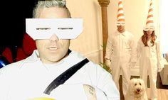 housewife fancy dress | pV! Robbie Williams and his wife Ayda sport hilarious and spookily ...