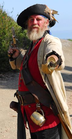 'Arrg be Scalawag! Where's me Rum? Pirate Garb, Pirate Wench, Sea Pirates, Halloween Costumes, Pirate Costumes, Pirate Life, Renaissance Fair, Action Poses, Captain Hook