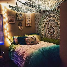 Is This Bedroom Perfect Or What?! I Actually Have A Similar Mandala  Tapestry On
