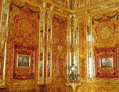 The Amber Room in a Palace
