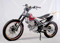 Modifikasi Honda Sonic 150 R Trail