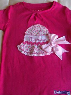 Camiseta sombrero personalizada.