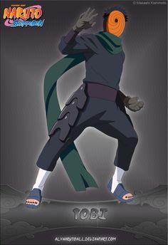 Tobi by alxnarutoall Boruto, Madara Uchiha, Naruto Shippuden Anime, Anime Naruto, Tobi Obito, Naruto Oc Characters, Mangekyou Sharingan, Anime Tattoos, Gay Art