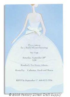 bcd45923db9c Bridal Shower Dress Complete Invitation Kit Creates 10 by Wilton - Wedding  Invitations   Programs - Wedding Supplies-
