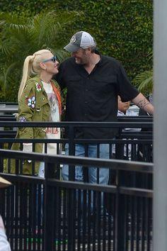 Gwen And Blake, Gwen Stefani And Blake, Blake Shelton, Celebrity Crush, Crushes, Pictures, Photos