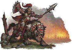 Hobgoblin Worg Captain