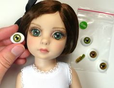 Doll Project - Doll Project Blog - How to Change the New Tonner Effanbee Patsy DollEyes