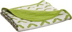 Kicky Pants Baby-girls Newborn Print Double Sided Blanket