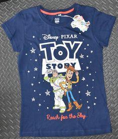 97a45e7bcfe30d TOY STORY PRIMARK T-Shirt REACH FOR THE SKY DISNEY PIXAR Womens Ladies UK  Sizes 4 - 24
