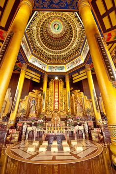 Buddhist Temple, Tainan #Taiwan