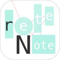 Tokyo Cartographic CO.,LTD.「reteNote」