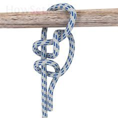 Hammock Hitch: Hitches: How to tie Knots