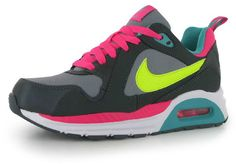 Nike Air Max Trax Older Girls Womens Trainers Pink Volt UK size 3 EU 35.5  NEW