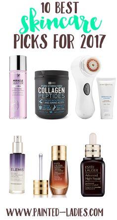 10 Best Skincare Picks For 2017