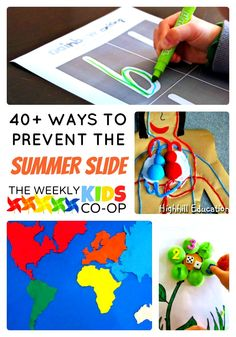 Over 40 Fun Activities to Prevent the Summer Slide in Kids