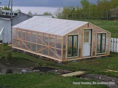 For me that would be the minimum size. See on this website how to build your own greenhouse.