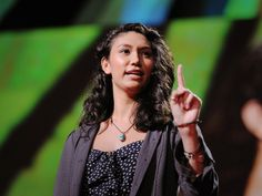 """If I should have a daughter, instead of Mom, she's gonna call me Point B ... "" began spoken word poet Sarah Kay, in a talk that inspired two standing ovations at TED2011. She tells the story of her metamorphosis -- from a wide-eyed teenager soaking in verse at New York's Bowery Poetry Club to a teacher connecting kids with the power of self-expression through Project V.O.I.C.E. -- and gives two breathtaking performances of ""B"" and ""Hiroshima."""