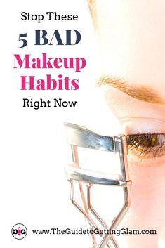 The top 5 bad skincare and makeup habits to break, now! And then replace them with the top 5 good beauty habits to add to your routine. Bad Makeup, Hazel Eye Makeup, Eyebrow Makeup Tips, Smoky Eye Makeup, Best Makeup Tips, Makeup For Green Eyes, Best Makeup Products, Eyeliner Makeup, Hazel Eyes
