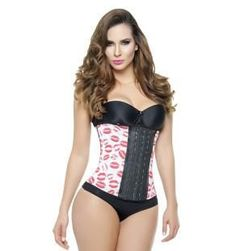 """c3c6aaf7d2d1a Ann Michell Red Kisses Waist Trainer wear under your clothes to give you  that beautiful """"curve"""""""