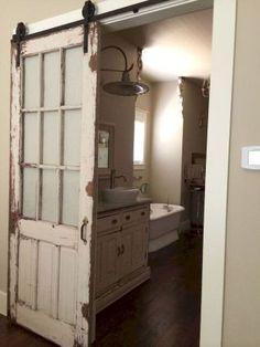 26 Rustic Farmhouse Bathroom Remodel Ideas