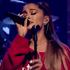 Ariana Geande, Ariana Video, Ariana Tour, Ariana Music, Ariana Grande Singing, Ariana Grande Baby, Ariana Grande Concert, Aesthetic Songs, Subtle Makeup