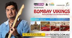 Bombay Vikings - Neeraj Shridhar Live In Sydney Sydney Town Hall on 07:00 PM, Saturday. 3rd May 2014 Buy Online at http://drytickets.com.au/bombay-vikings-neeraj-shridhar-live-in-sydney.php#.Uw1WJvmSw8k