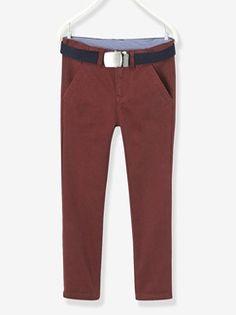Pantalon chino garçon  - vertbaudet enfant