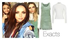 """Perrie Edwards today on set (11/05/2015)"" by perriesmakeup ❤ liked on Polyvore featuring Topshop"