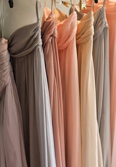 I love this color palette! Bridesmaid dress colors.