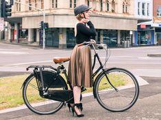 Yakkay Paris Oilskin Bike Helmet via @findingfemme