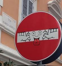 grappige verkeersborden belgie